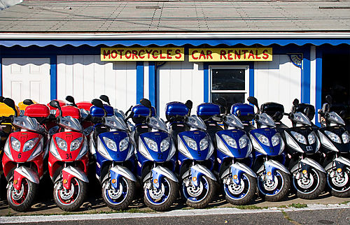 MV Rental Scooters