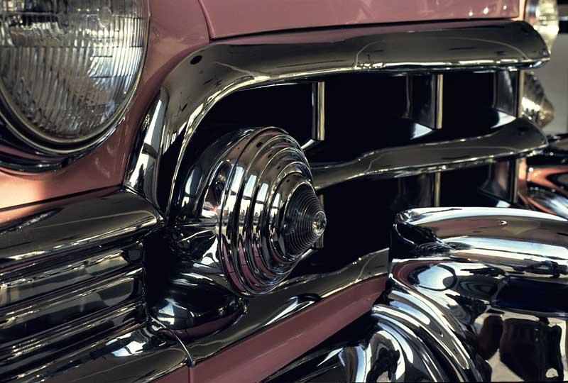 1950_Cadillac deVille Grill