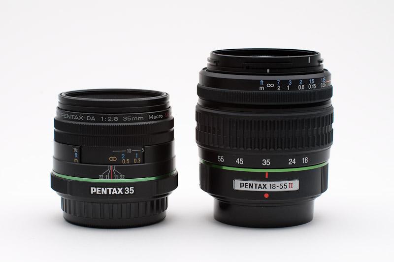 35mm vs 1855
