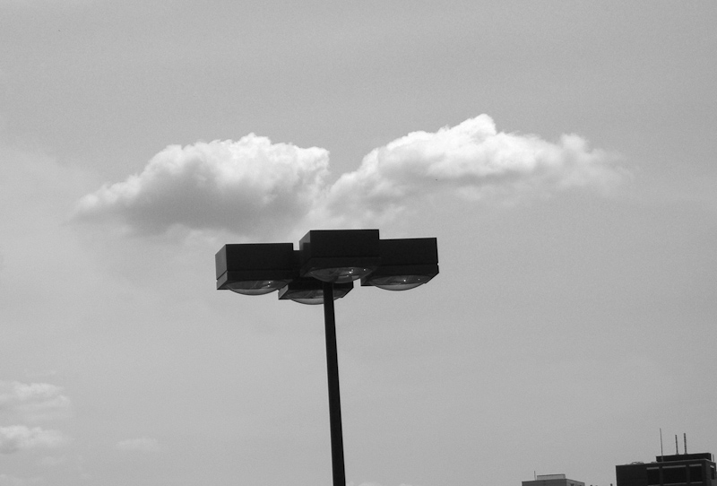 Clouds Above Light