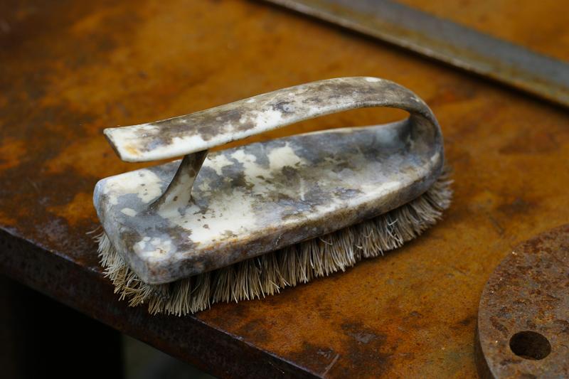 Brush on Steel