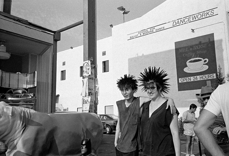Punks on Melrose