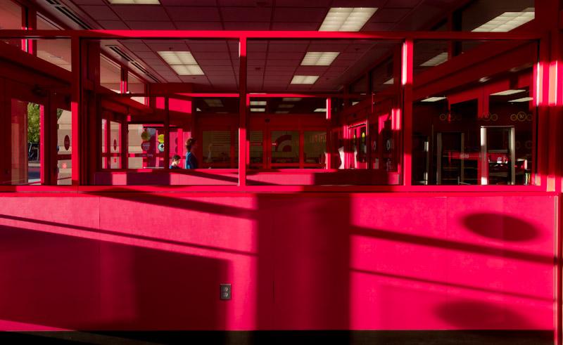 Angular Red Composition
