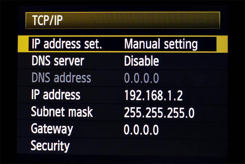 TCP_IP Screen