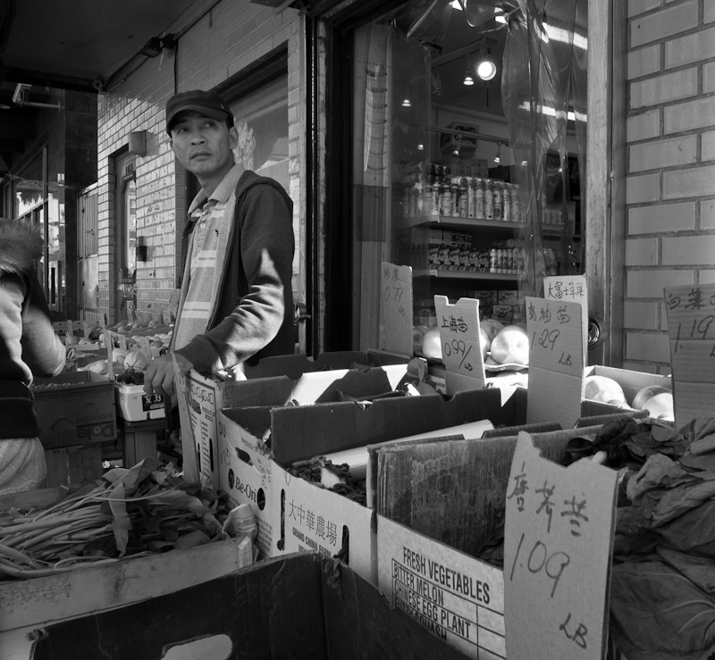 Chinese Produce Seller