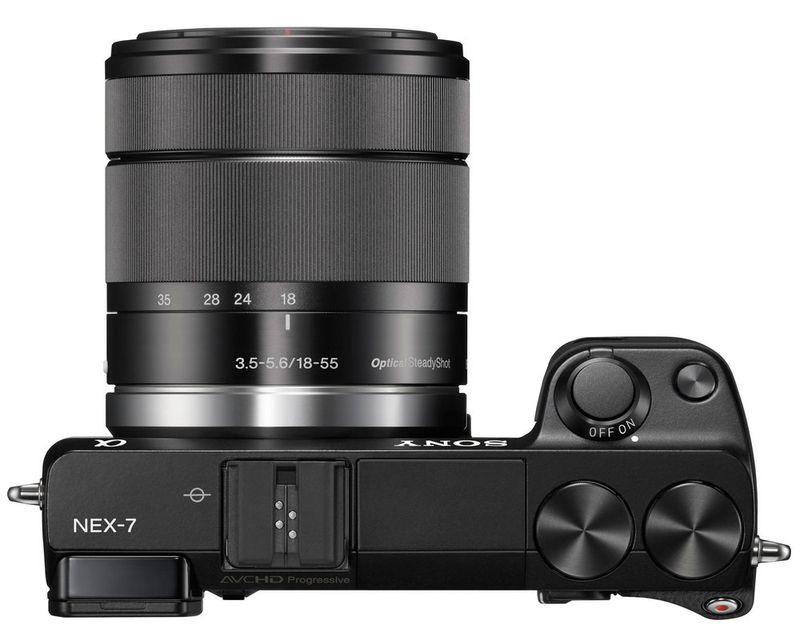Sony-NEX- 7 and lens