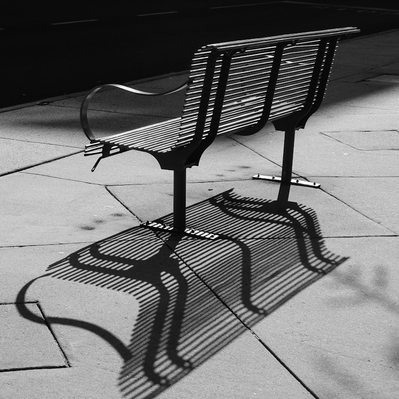 Backlit Bench-1