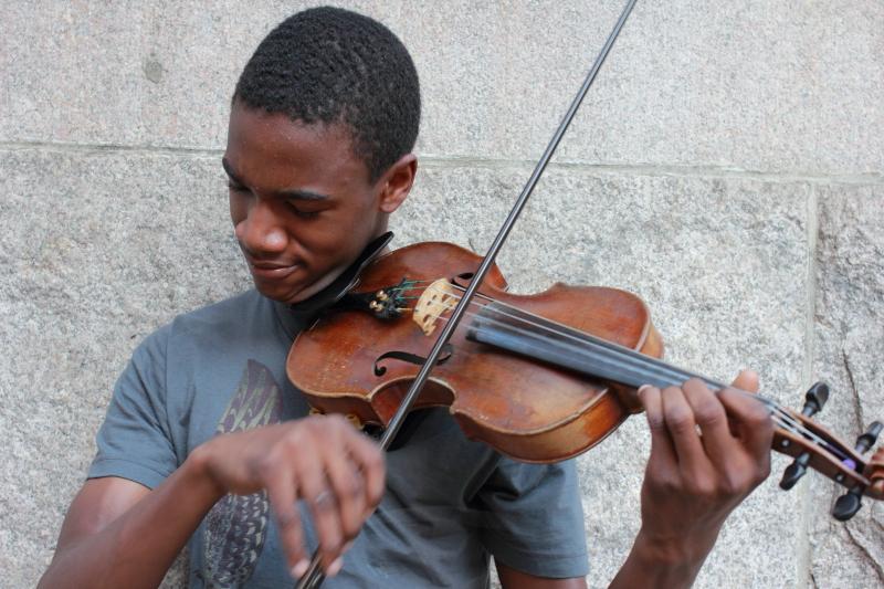 Violinist_DPP Portrait